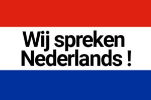 Wij spreken Nederlands